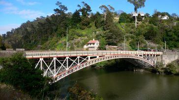 King's Bridge where the South Esk River meets the Tamar River