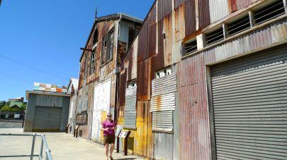 Old work sheds