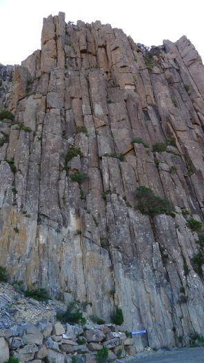 Giant pillars of dolerite
