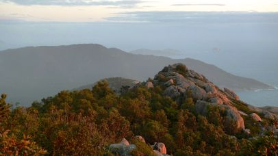 Looking south from Mt Oberon