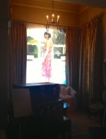 Phryne in the window - excellent use of natural lighting