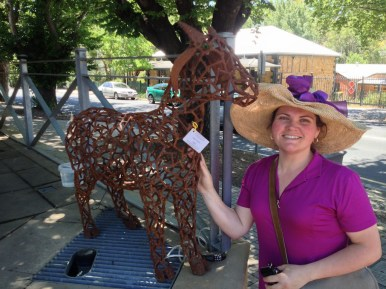 Dayna (me) & the Udder Delights goat