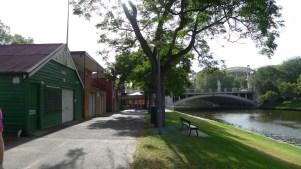 Boatsheds nextdoor to Jolleys Boathouse Restaurant