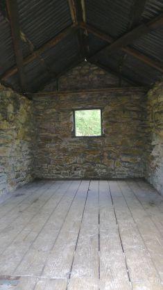 Inside Halfway Hut