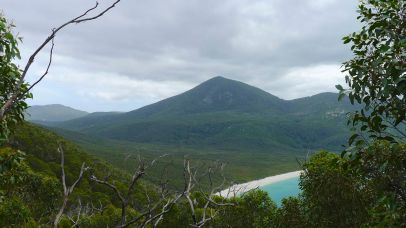 5/15 Mt Wilson overshadows the Waterloo Bay Walking Track connecting the bay with Telegraph Track
