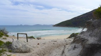 9/13 The beautiful and reasonably accessible Little Oberon Bay