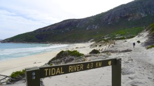 10/13 Not far until Tidal River now