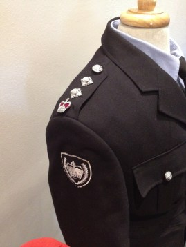 Lawson - Right shoulder & sleeve badges & epaulettes