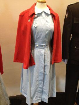 Nurses Uniform [red half cloak & blue dress with belt & watch]