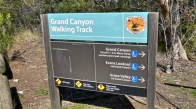 NSW NPWS sign at Neates Glen Car Park
