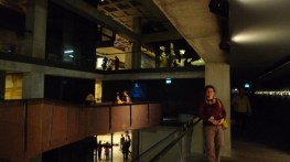 The lighting and architecture in most of the spaces really make MONA something special