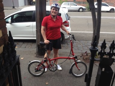 Step one - Get off your Brompton