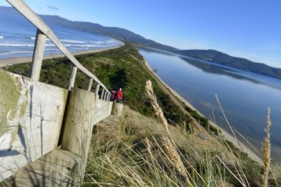 Bruny Island isthmus from another angle