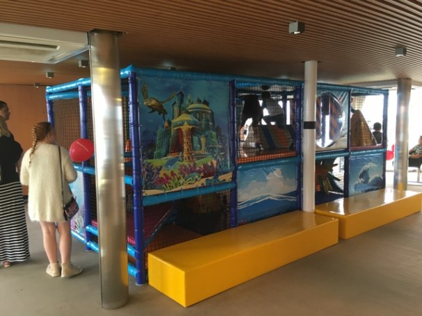 A play area for small, but not too small kids on Deck 10