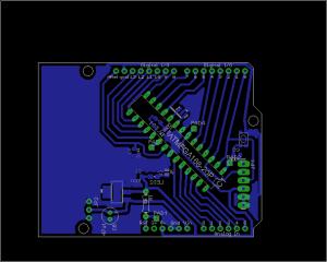 DWuino, Arduino clone