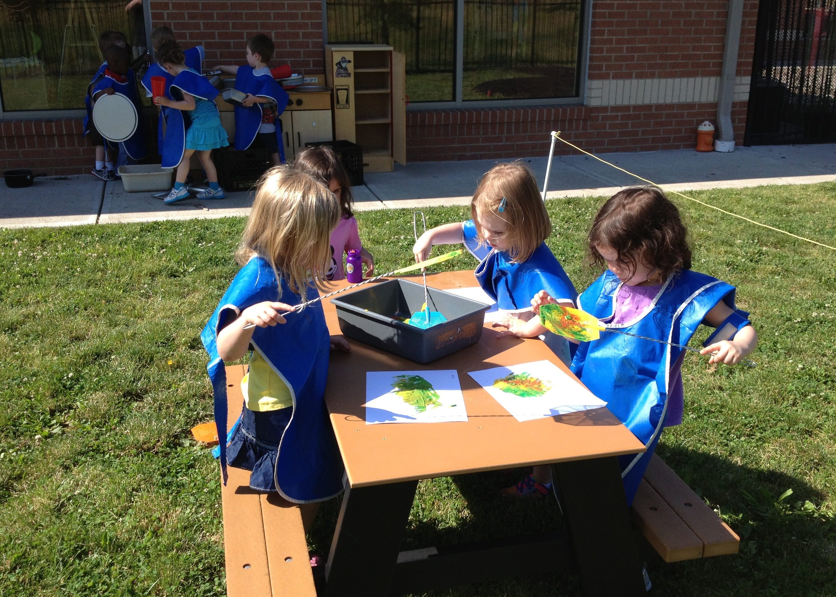 Day Nursery Outdoor Classroom Provides Meaningful Experiences For Preschoolers
