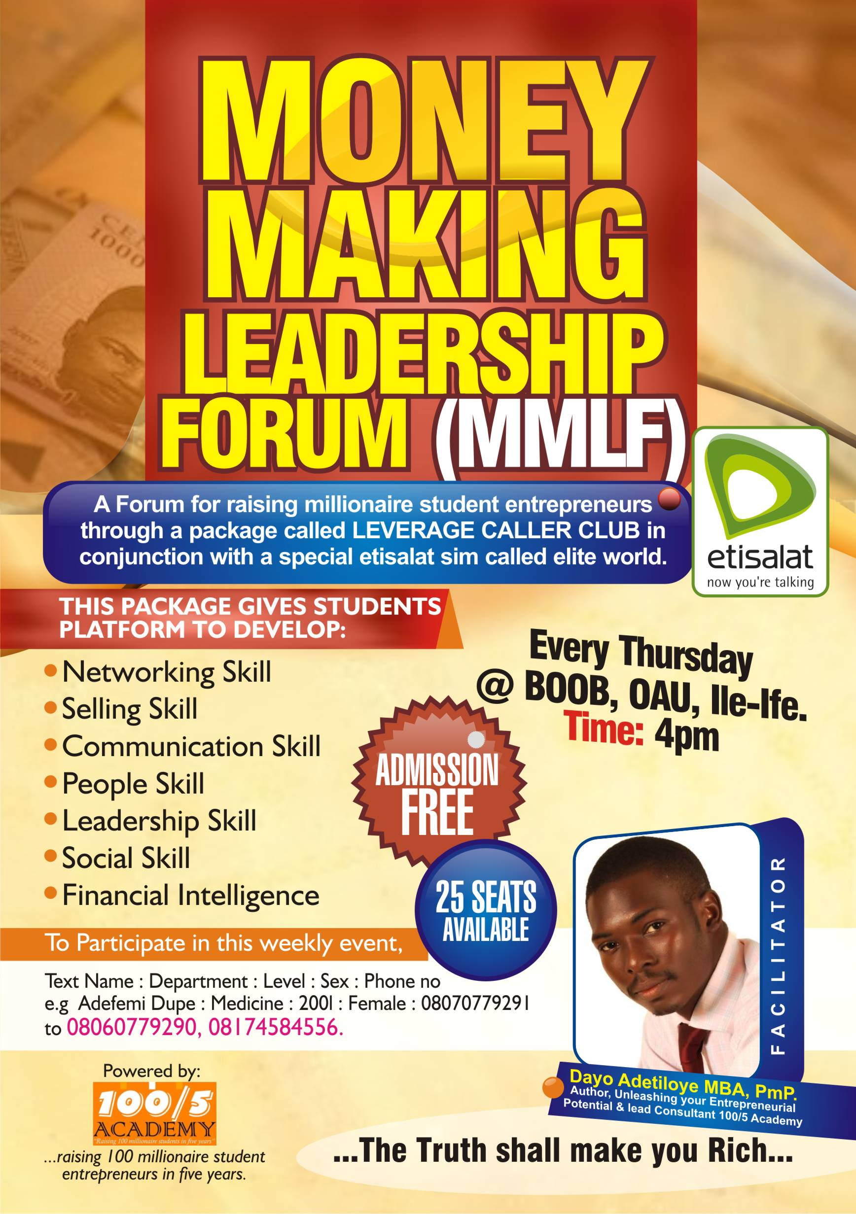 MONEY MAKING LEADERSHIP FORUM