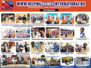 Charity Works by Helping Hands International in Nigeria