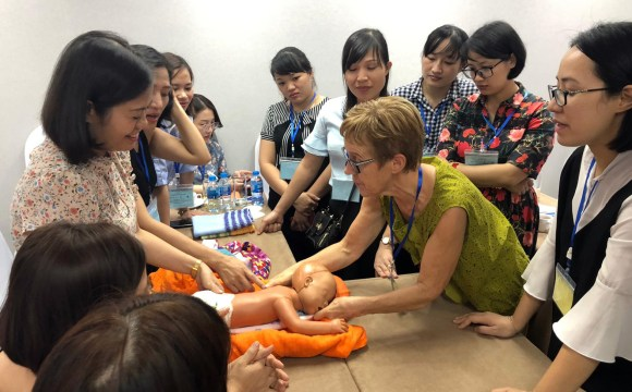 Training on Kangaroo Mother Care and Exclusive Breastfeeding