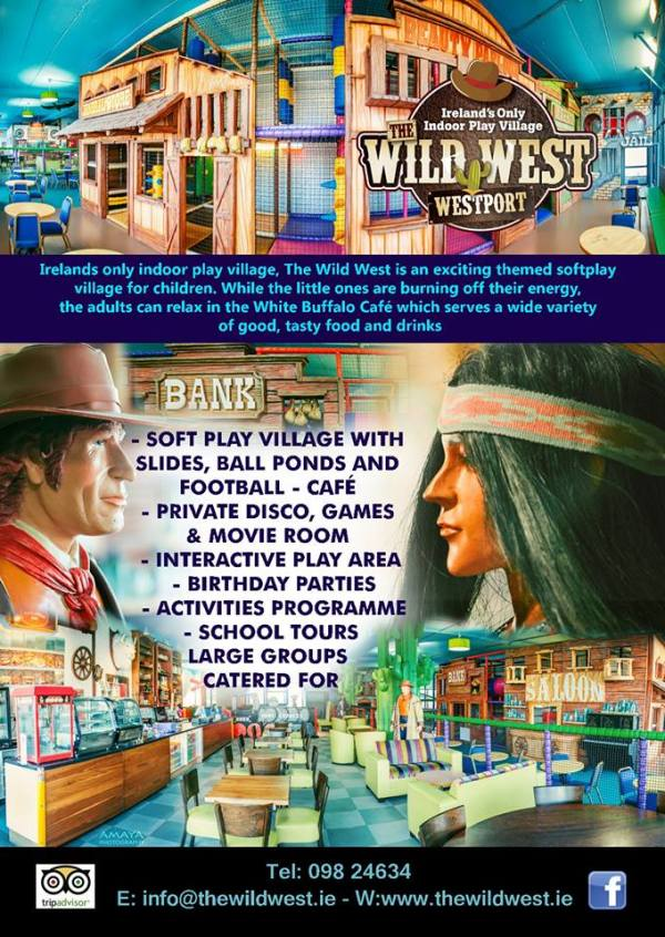 Wild West Indoor Play Village Westport