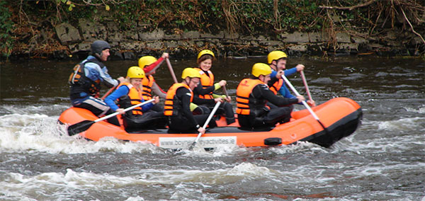 boyne valley activities white water rafting