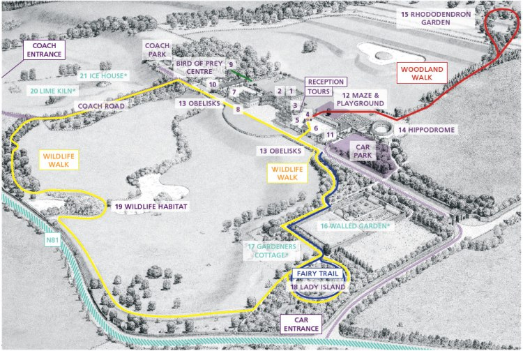 Russborough-House-and-Parklands-Map