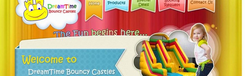 dreamtime bouncy castles