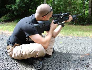 Cross-Legged Shooting Position