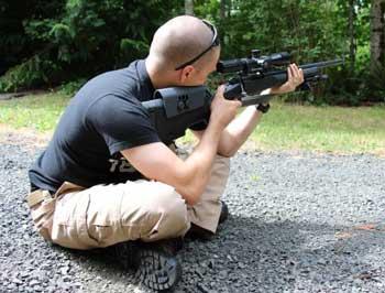 Cross-Legged Shooting Position