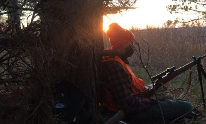 first time deer hunting experience