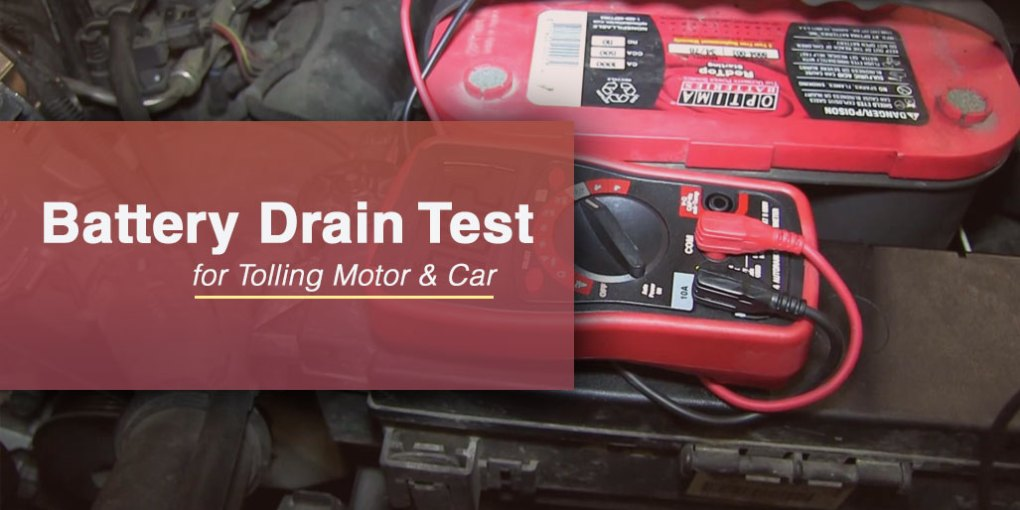 Marine and Car Battery Drain Test