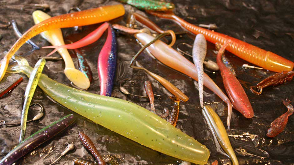 Types of Soft Plastic Lures