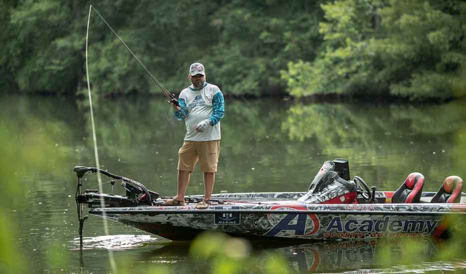 How to Use a Bass fishing Line