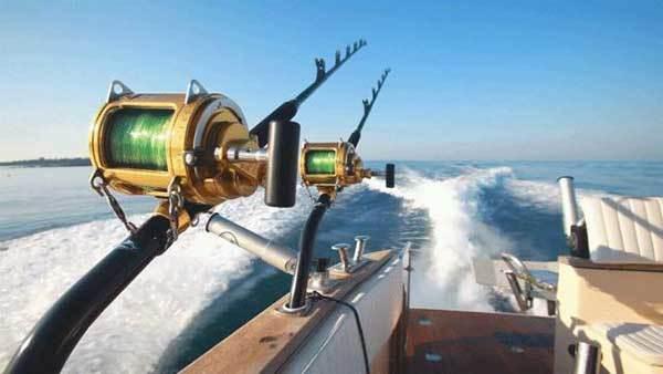 Salmon Trolling Rods Use termination kit