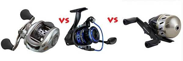 What's the Difference Between A Spinning Reel And A Baitcasting Reel?