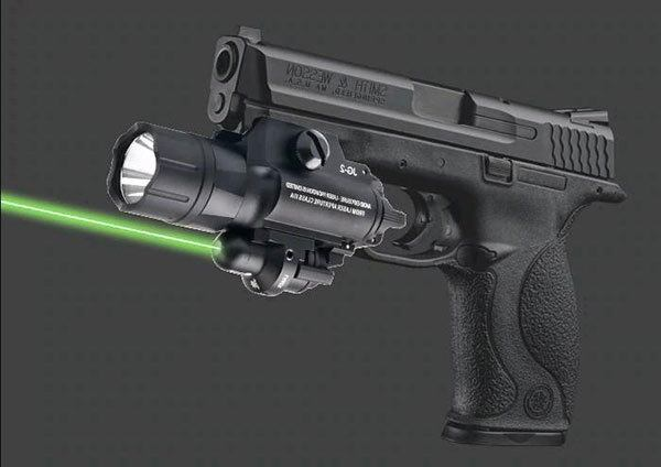 1. Which is better, green or red laser, for a handgun