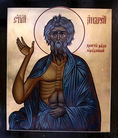 Sf.Andrei cel nebun pentru Hristos
