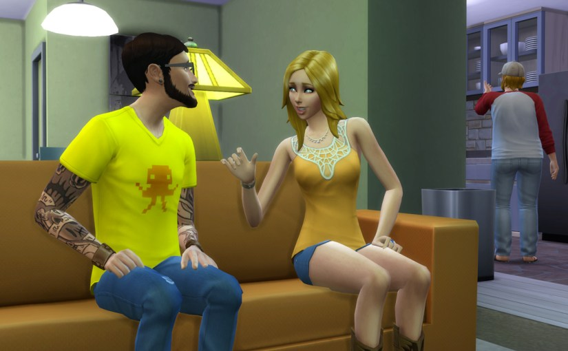 Andre DaSilva, Babs L'Amour and Steve Fogel move in together at Springscape in Oasis Springs.