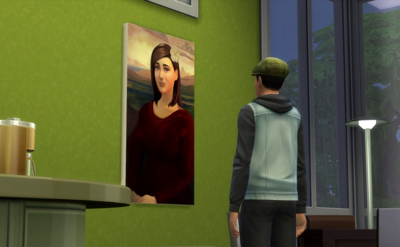 Ollie Purdue paints a masterpiece.
