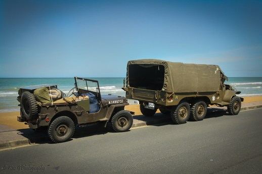 Army truck transport DDay beaches