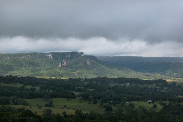 northern NSW lookout near Nimbin