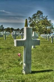 dday memorial crosses