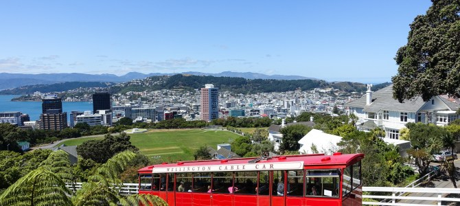 Wellington – not windy-sunny!
