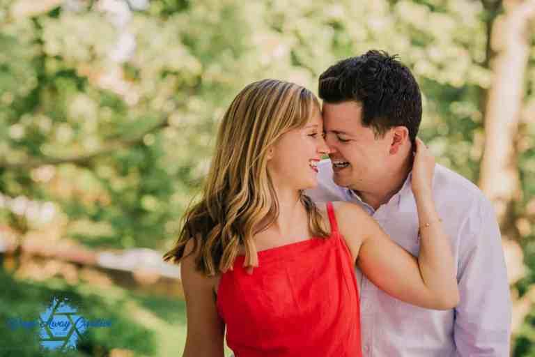 Courtney and John's Engagement Photo in Philadelphia