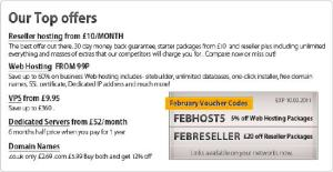 uk2 register domain and reseller hosting discount or coupon code