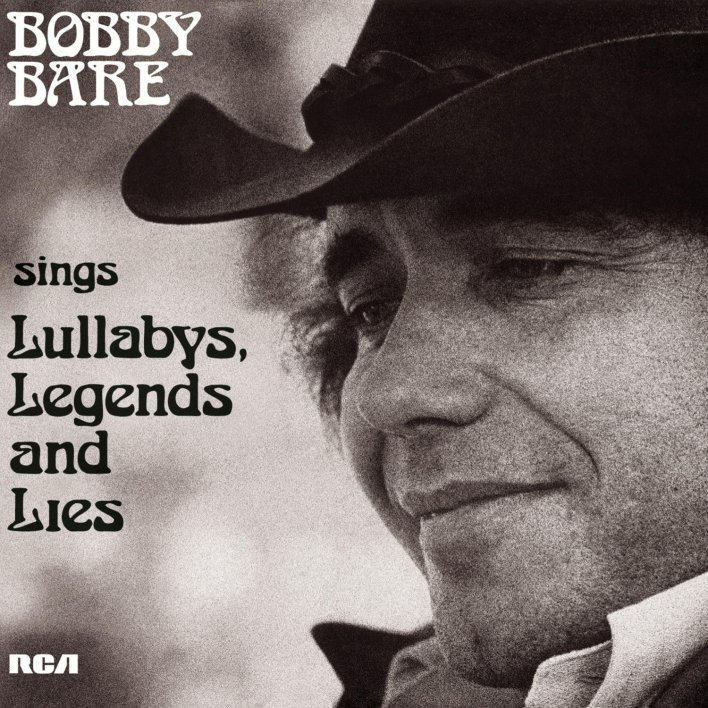 Bobby Bare Lullabys Album Cover