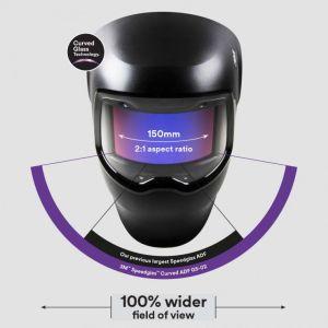 3M™ Speedglas™ Welding Helmet G5-02 with Curved Auto-Darkening Lens