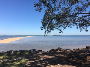 Wellington Point Recreation Reserve beach