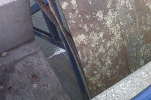 Gate condition prior to Blast Cleaning and Re-Painting