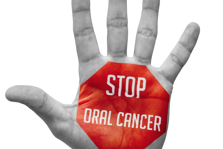regular oral cancer screening by your dentist